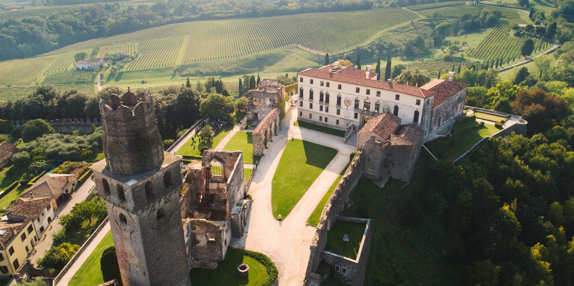 Castello San Salvatore - Esclusiva location privata per eventi e matrimoni  in Veneto